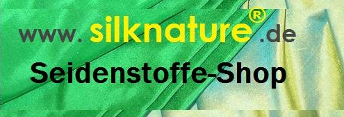 silknature® - TRÄUME IN SEIDE - Seidenstoffe Shop-Logo